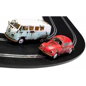 Scalextric 3966A - VW BEETLE/CAMP.VAN W.COAST (8/18) *