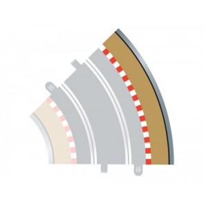 Scalextric 8228 - SLIPSTR.+VANGR.BUITEN(8206) 45° X 4