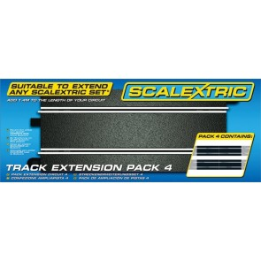 Scalextric 8526 - TRACK PACK 4 X SC8205