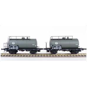 Exact train EX20511 - DB 2er Set 24m3 Uedinger Kesselwagen EVA