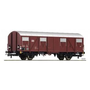 Roco 76614 - AC Gesloten goederenwagen met sluitlichten, DB