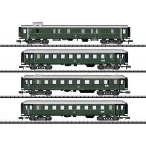 Trix 15015 - 4-delige set sneltreinrijtuigen, DB