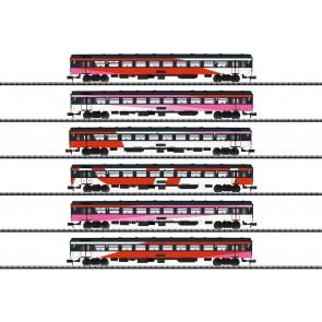 Trix 15389 - NS Intercity. Set van 6 rijtuigen