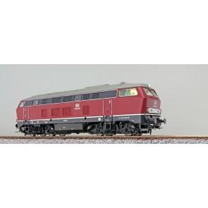 Esu 31000 - Diesellok, H0, BR 216, V160 130 DB, altrot, Ep III, Vorbildzustand um 1967, Sound+Rauch, DC/AC
