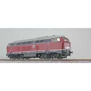 Esu 31002 - Diesellok, H0, BR 216, 216 156 DB, altrot, Ep IV, Vorbildzustand um 1973, Sound+Rauch, DC/AC