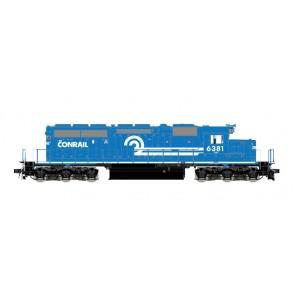 Esu 31455 - Diesellok, H0, SD40-2, Conrail 6381, Ep. IV, Standard nose, Vorbildzustand um 1987, Rundumleuchte, Sound, DC/AC