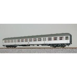 Esu 36467 - n-Wagen, H0, Bnb719, 22-11 611-7, 2. Kl., DB Ep. IV, silber, Pfauenauge, Rahmen schwarz, Dach umbragrau, DC