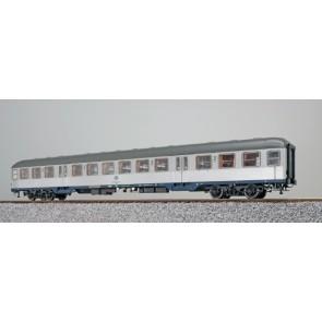 Esu 36483 - n-Wagen, H0, Bnrz 725, 22-34 106-1, 2. Kl, DB Ep. IV, silber, Pfauenauge, Rahmen ozeanblau, Dach umbragrau, DC