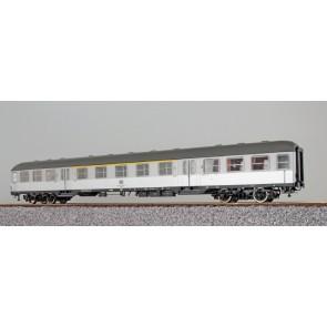 Esu 36503 - n-Wagen, H0, ABnb703, 31-11 496-2, 1./2. Kl., DB Ep. IV, silber, Pfauenauge, Rahmen schwarz, Dach umbragrau, DC