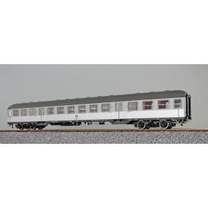 Esu 36509 - n-Wagen, H0, Bnb719, 22-12 259-4, 2. Kl., DB Ep. IV, silber, Pfauenauge, Rahmen schwarz, Dach umbragrau, DC