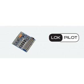 Esu 59229 - LokPilot 5 Fx DCC, 21MTC NEM660, Retail, Spurweite H0, 0