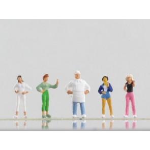 Vollmer 42360 - N Figuren-Set Luigi und seine
