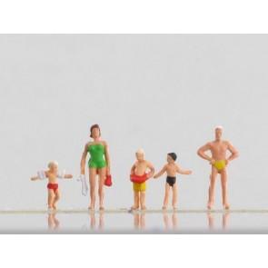 Vollmer 42361 - N Figuren-Set Badegäste, 5 St