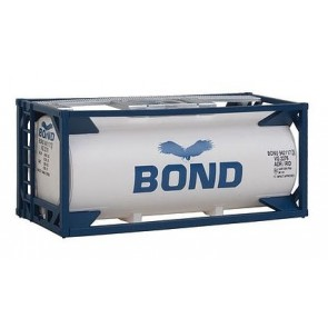 Walthers 531961 - TANK-CONTAINER 20' BOND H0