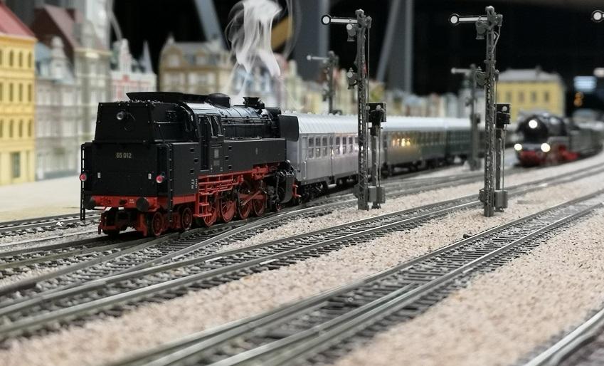 Nieuwe stoomloc BR65
